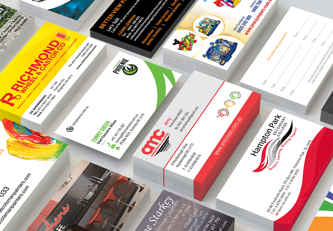 Business Card printing services Clayton Melbourne
